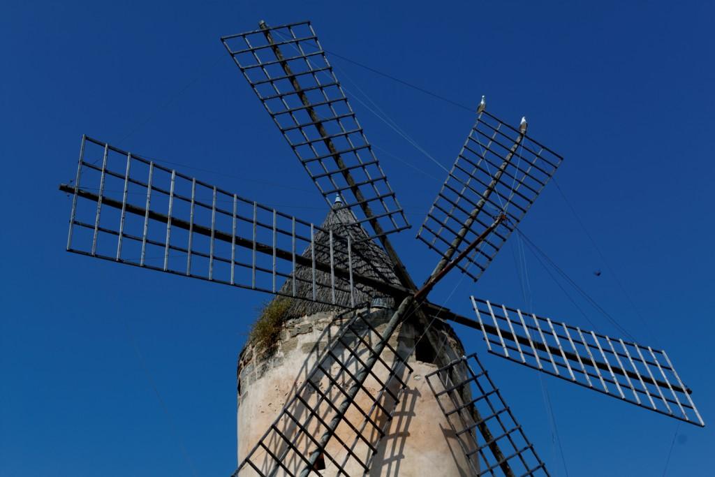 Mühle Mallorca Stock Foto Portal
