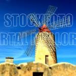 typische Windmühle Mallorca