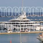 Lady Lara 2105 Super Yacht im Hafen von Palma de Mallorca