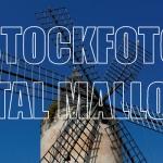 mallorquinische Windmühle mit Tauben