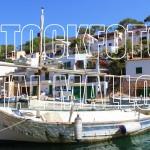 Cala Figuera Fischerboot Mallorca