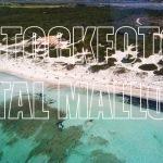 Naturstrand Es Trenc Stockfoto Mallorca